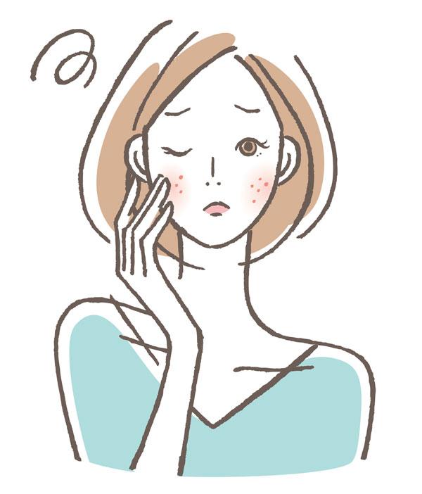 湿熱タイプの女性